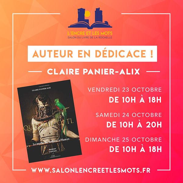 Claire Panier-Alix_pub_L'Encre et les mo