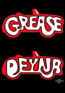 Tipografia Grease