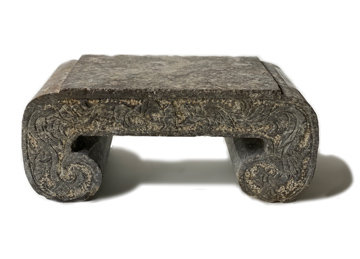 EARLY 20TH CENTURY TURKISH STONE PLINTH