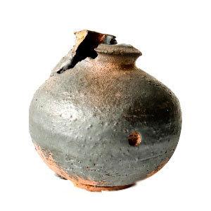 21ST CENTURY WOOD FIRED PRIMITIVE VESSEL 1