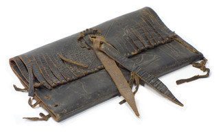 Early 19th Century Wallet From Africa