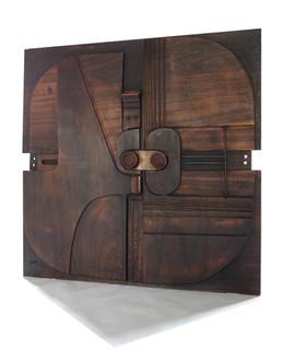 20th Century Italian Plywood Panel by Nerone Ceccarelli Patuzzi For Gruppo NP2
