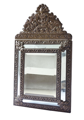 19TH CENTURY FRENCH REPOSE MIRROR