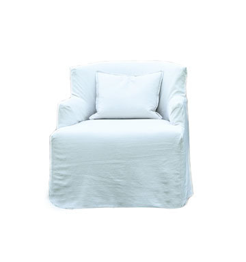 HAMPTONS SLIP COVERED CLUB CHAIR