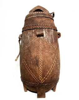 20th Century Milk Pail from Africa