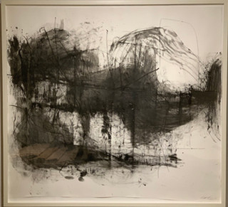 21st Century Abstract Japanese Ink Drawing by Lukas Machnik
