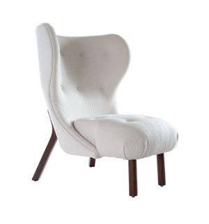 Fresh Pond Modern Wing Chair by Michael Del Piero