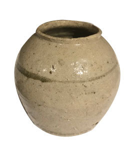 LATE 19TH CENTURY JAPANESE GLAZED CERAMIC VESSEL