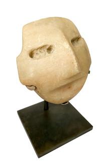 Small Mayan Stone Mask