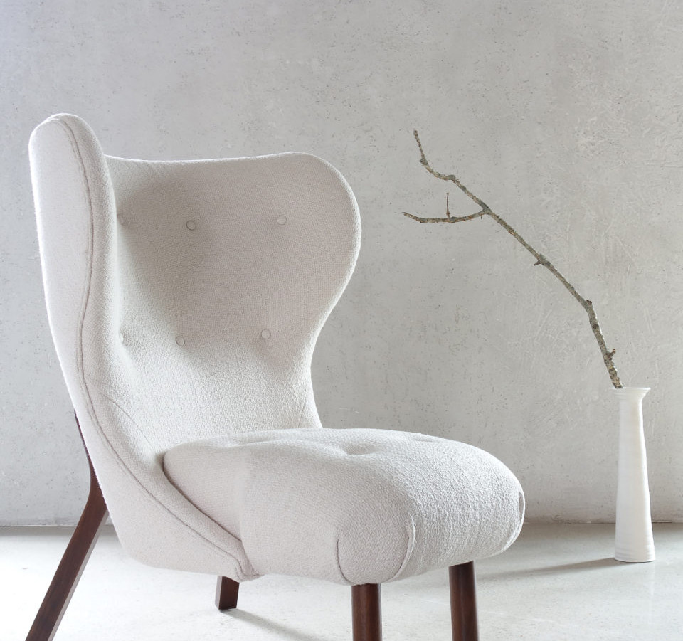 The Fresh Pond Mod Wing Chair