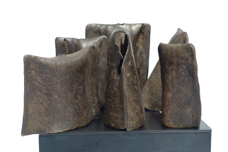 Late 19th Century Collection of Hand Hammered Bells from Cameroon Africa