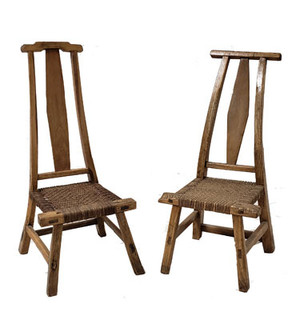 Pair of Chinese Chairs