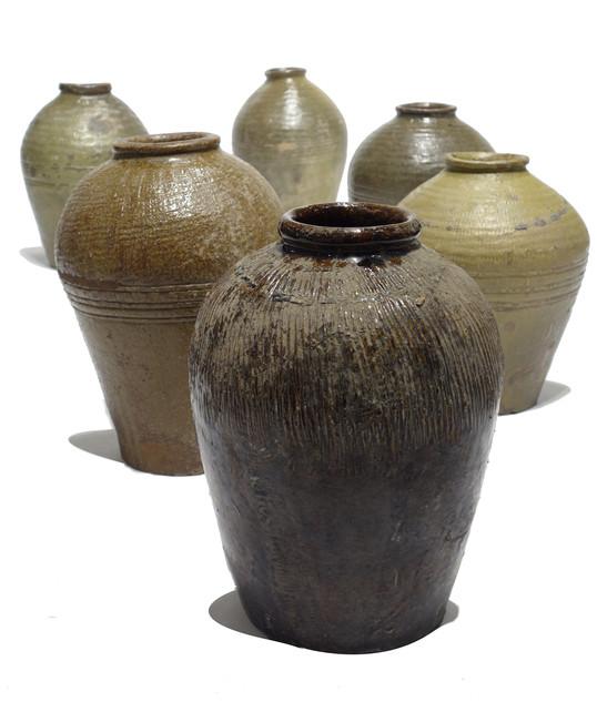 19th Century Ceramic Jars From China