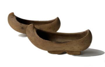 19TH CENTURY BURMESE WOODEN SHOES