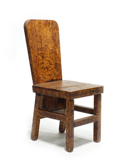 Early 20th Century Faux Painted Chair
