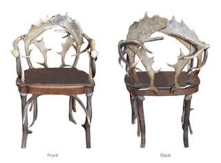 19th Century Antler Chair
