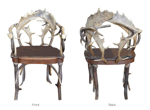 19th Century Antler Chair