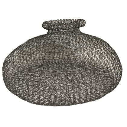 TABLE URN SINGLE LAYER BLACK 20 GAGE WIRE, INDOOR ONLY #39