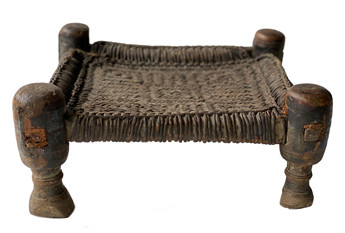 Early 20th Century African Low Stool