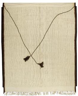 21st Century Moroccan Style Tassel Rug Woven in Turkey