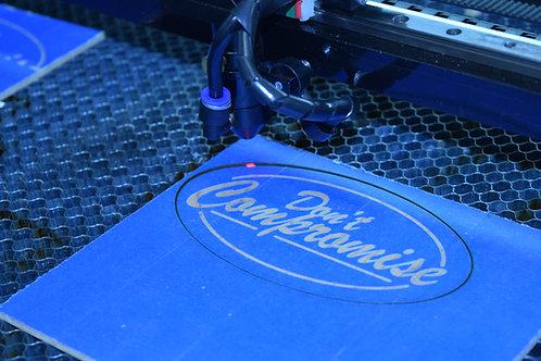 Laser Engraving & Graphic Design