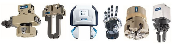 Schunk Grippers Product Lineup 2 650x125
