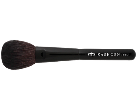 KASHOEN BASICシリーズ BBチークブラシ(毛質等級:山羊Aクラス)
