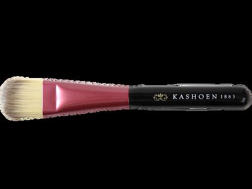 KASHOENシリーズ 蘇芳ファンデーションブラシ(毛質等級:特殊混毛PBT Sクラ