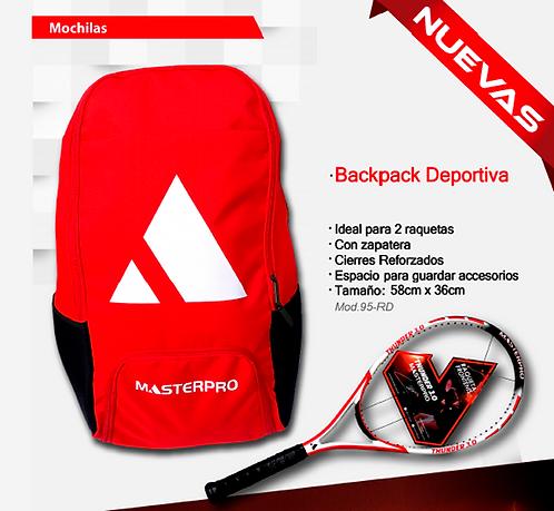 """Back Pack """"Clásica"""" Master Pro"""