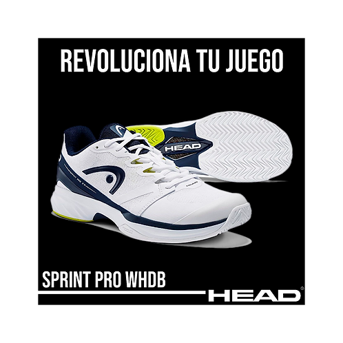"""Zapatillas Head """"Sprint Pro 2.5"""" Blancas"""
