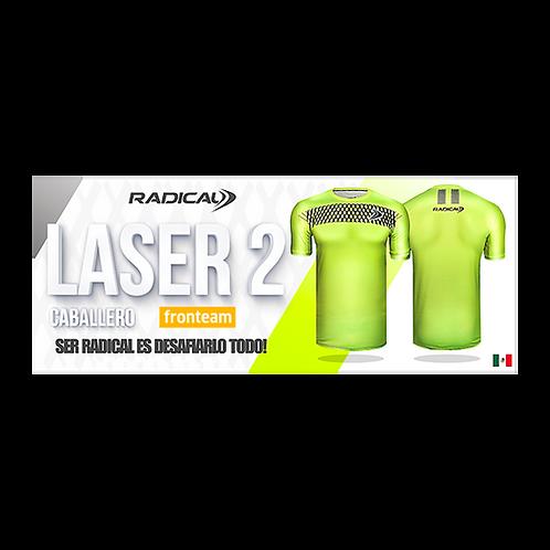 "Playera Radical ""Láser 2"" Caballero"