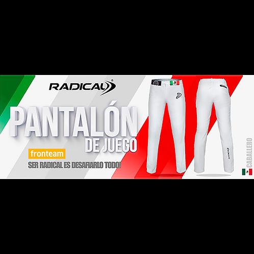 """Pantalón Radical """"Oficial de Juego"""" Caballero"""