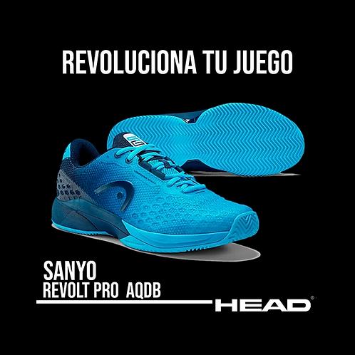 "Zapatillas de Pádel Head ""Revolt Pro 3.0 Sanyo"" Azules"