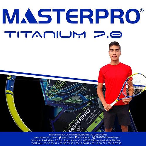 """Raqueta de Frontenis Masterpro """"Titanium 7.0"""""""