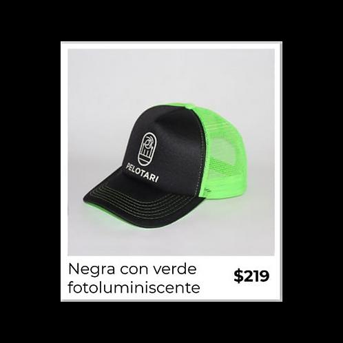 """Gorra marca Pelotari """"Logo luminiscente"""""""