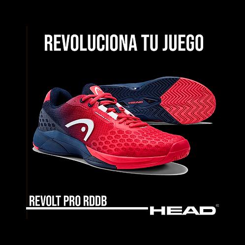 "Zapatillas Head ""Revolt Pro 3.0"" Rojas"
