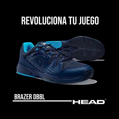 """Zapatillas Head """"Brazer"""" Azul Marino"""
