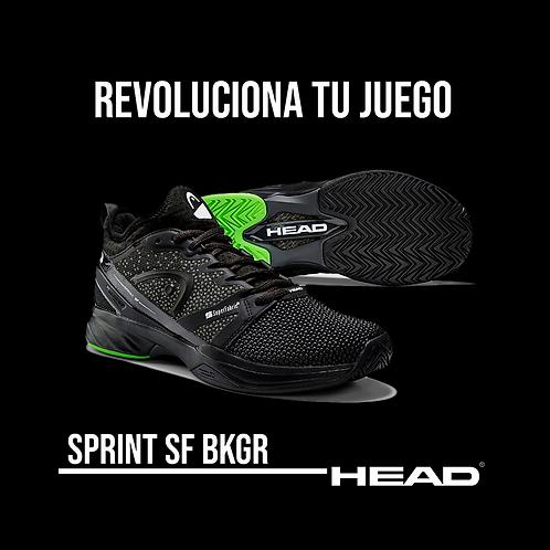 """Zapatillas Head """"Sprint SF"""" Negras"""