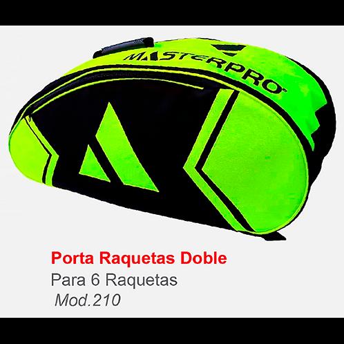 Raquetero Doble Master Pro