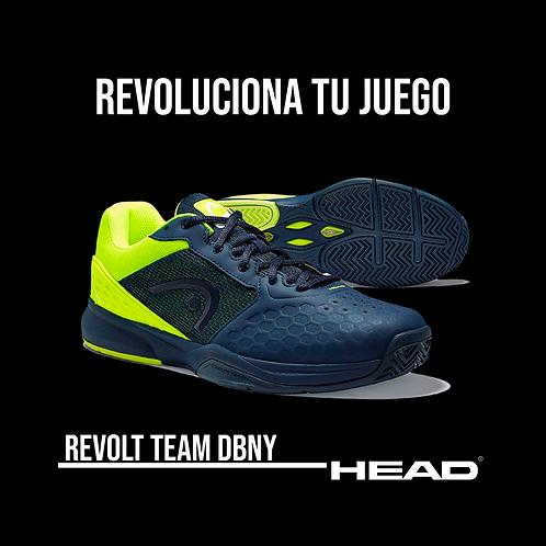 """Zapatillas Head """"Revolt Team 3.0"""" Azul Marino"""