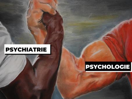 Psychologie vs psychiatrie : attention aux mauvais choix ⚠️🤯