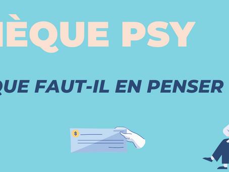 Dispositif « chèque psy » : que faut-il retenir ?