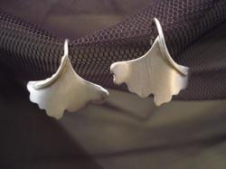 Ginkgo Earrings,small $28 hook style