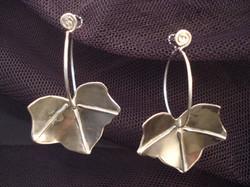 small ivy earrings