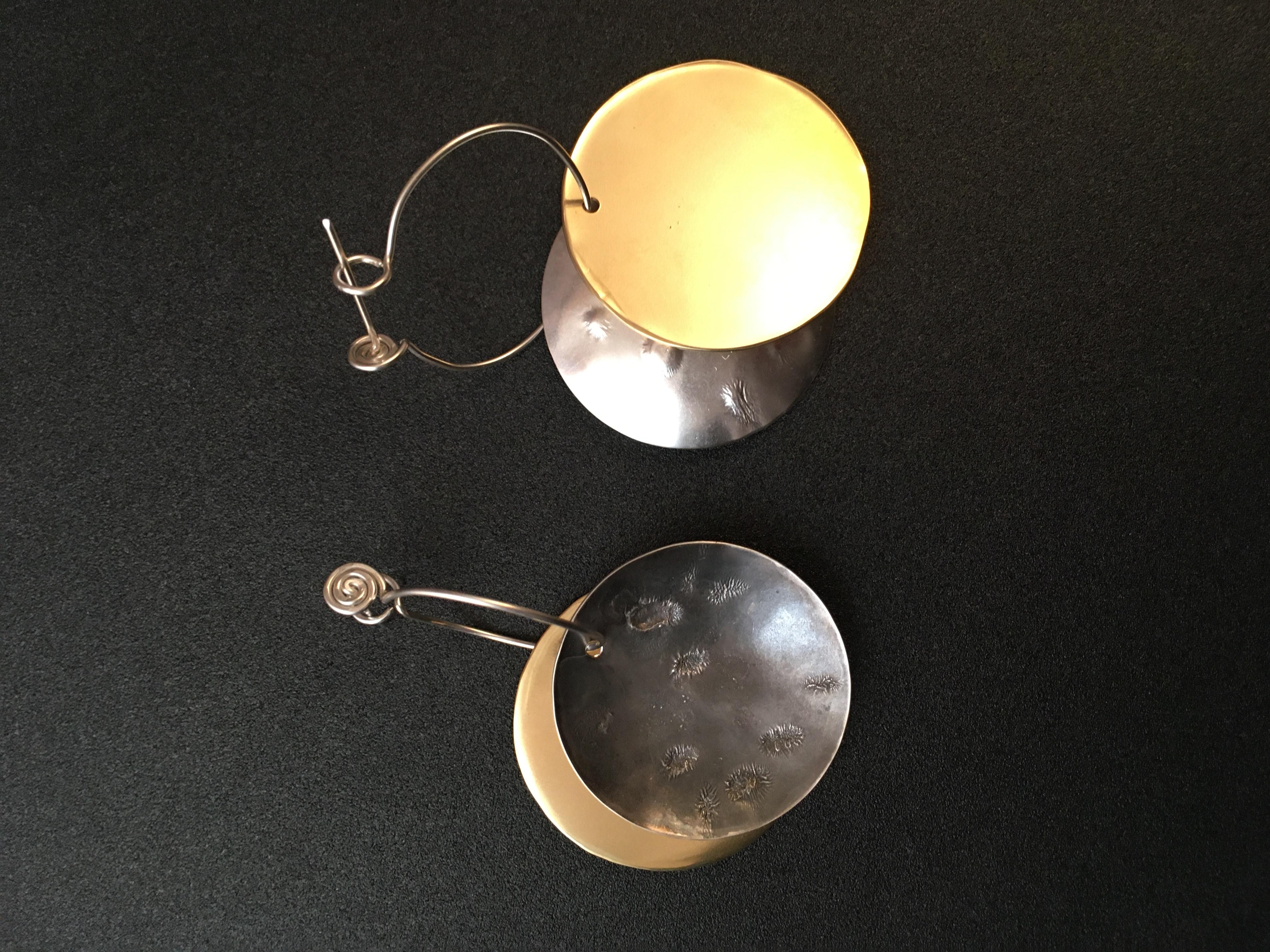 Solar Eclipse Earrings, large  $68