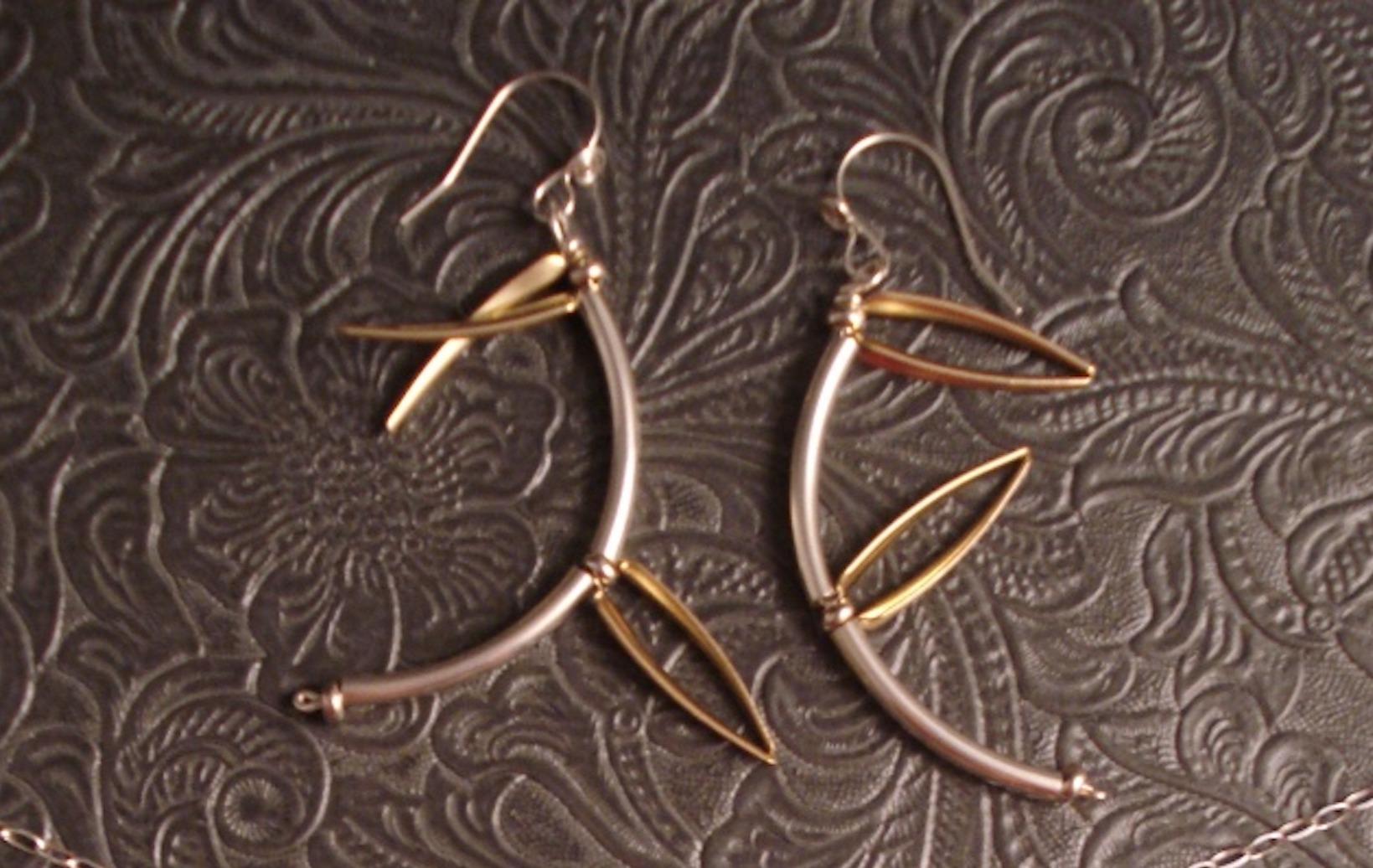 Bamboo Earrings $38