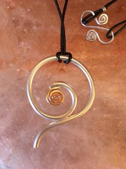 Fiddlehead Pendant