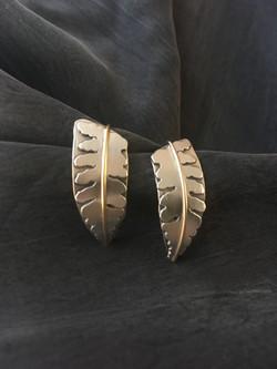 Medium Fern Earrings
