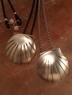 Scallop Shell Pendants