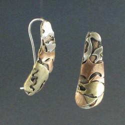 Ponderosa Pine Bark Earrings